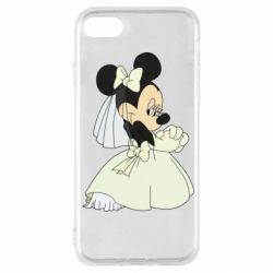 Чехол для iPhone SE 2020 Minnie Mouse Bride