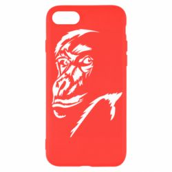 Чехол для iPhone SE 2020 Monkey face features