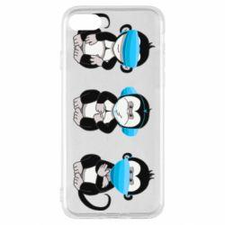 Чохол для iPhone SE 2020 Monkeys in medical masks