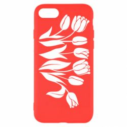 Чохол для iPhone SE 2020 Monochrome tulips