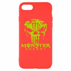Чохол для iPhone SE 2020 Monster Energy Череп