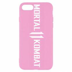 Чехол для iPhone SE 2020 Mortal kombat 11 logo