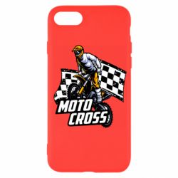 Чехол для iPhone SE 2020 Motocross