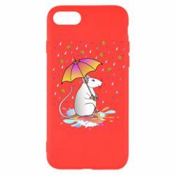 Чохол для iPhone SE 2020 Mouse and rain