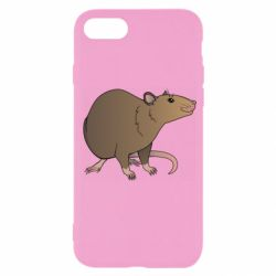 Чехол для iPhone SE 2020 Mouse vector art