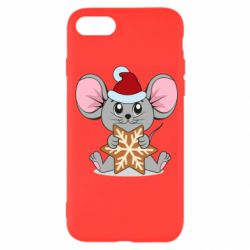 Чехол для iPhone SE 2020 Mouse with cookies