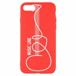 Чохол для iPhone SE 2020 MUSIC LINE