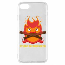 Чохол для iPhone SE 2020 MY HEART ONLY  BURNS FOR YOU