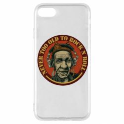 Чохол для iPhone SE 2020 Never too old to Rock n roll