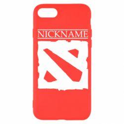 Чехол для iPhone SE 2020 Nickname Dota