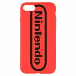 Чохол для iPhone SE 2020 Nintendo logo