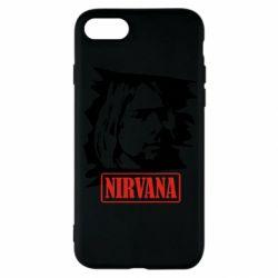 Чехол для iPhone SE 2020 Nirvana Kurt Cobian