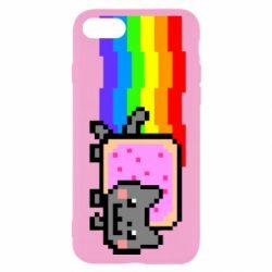 Чохол для iPhone SE 2020 Nyan cat