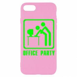 Чехол для iPhone SE 2020 Office Party