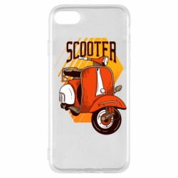 Чохол для iPhone SE 2020 Orange scooter