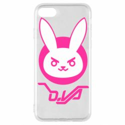 Чехол для iPhone SE 2020 Overwatch dva rabbit