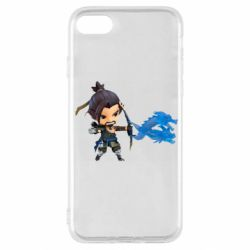 Чехол для iPhone SE 2020 Overwatch Hanzo Chibi
