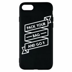 Чехол для iPhone SE 2020 Pack your bag and go