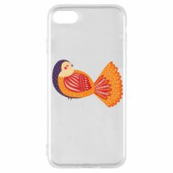 Чохол для iPhone SE 2020 Painted with patterns Bird