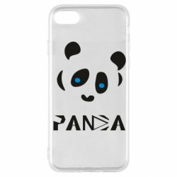 Чохол для iPhone SE 2020 Panda blue eyes