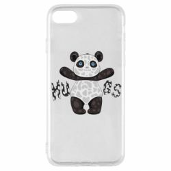 Чехол для iPhone SE 2020 Panda hugs
