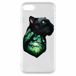 Чохол для iPhone SE 2020 Panther and Forest