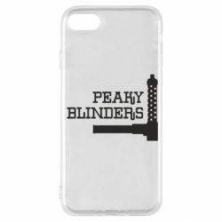 Чохол для iPhone SE 2020 Peaky Blinders and weapon