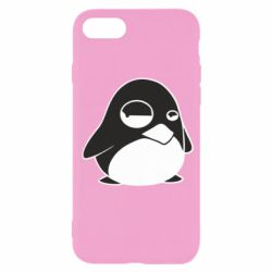 Чехол для iPhone SE 2020 Penguin