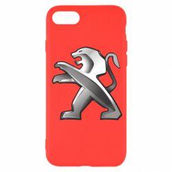 Чохол для iPhone SE 2020 Peugeot Logo
