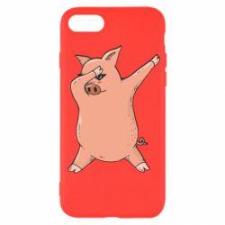 Чохол для iPhone SE 2020 Pig dab