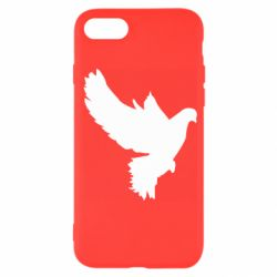 Чехол для iPhone SE 2020 Pigeon silhouette