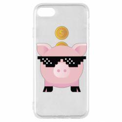 Чохол для iPhone SE 2020 Piggy bank