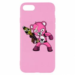 Чохол для iPhone SE 2020 Pink bear