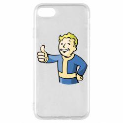 Чехол для iPhone SE 2020 Pip boy fallout