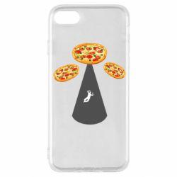 Чохол для iPhone SE 2020 Pizza UFO