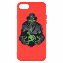 Чехол для iPhone SE 2020 Plague Doctor