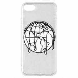 Чехол для iPhone SE 2020 Planet contour