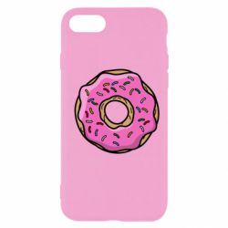 Чехол для iPhone SE 2020 Пончик Гомера
