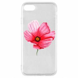 Чехол для iPhone SE 2020 Poppy flower