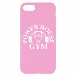 Чехол для iPhone SE 2020 Power House Gym