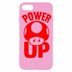 Чехол для iPhone SE 2020 Power Up гриб Марио