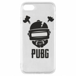 Чехол для iPhone SE 2020 PUBG: hero face