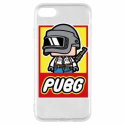 Чехол для iPhone SE 2020 PUBG LEGO