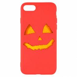 Чохол для iPhone SE 2020 Pumpkin face features