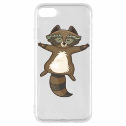 Чехол для iPhone SE 2020 Raccoon
