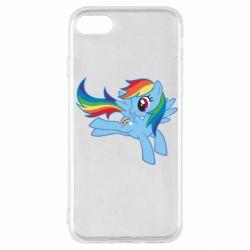 Чохол для iPhone SE 2020 Rainbow Dash run
