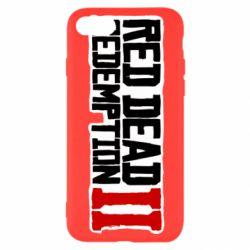 Чохол для iPhone SE 2020 Red Dead Redemption logo