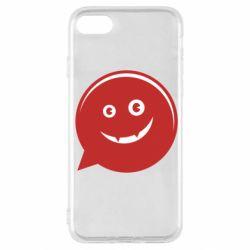 Чехол для iPhone SE 2020 Red smile