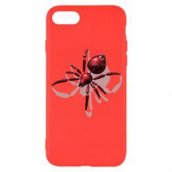 Чохол для iPhone SE 2020 Red spider