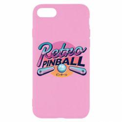 Чехол для iPhone SE 2020 Retro pinball